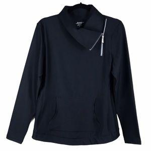 Jofit Jumper Pullover Black Golf Jacket